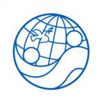 Engineers without borders logo globe with a dove